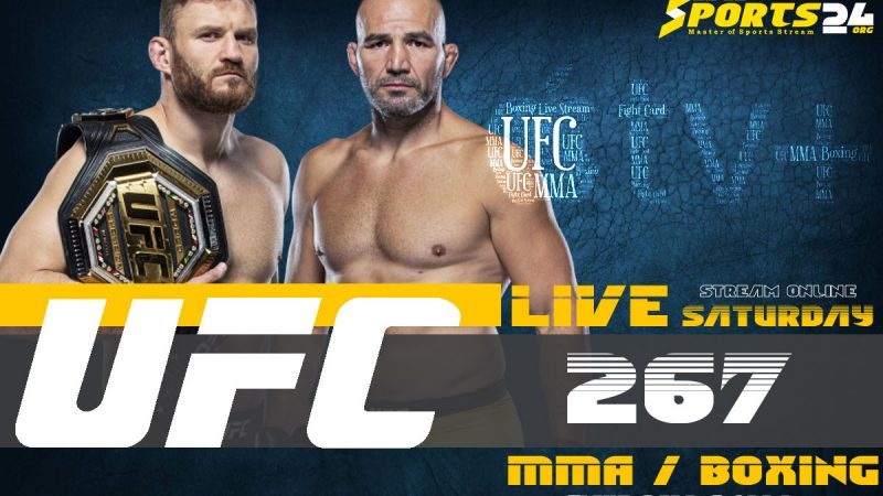 Watch UFC 267 on Apple TV From US