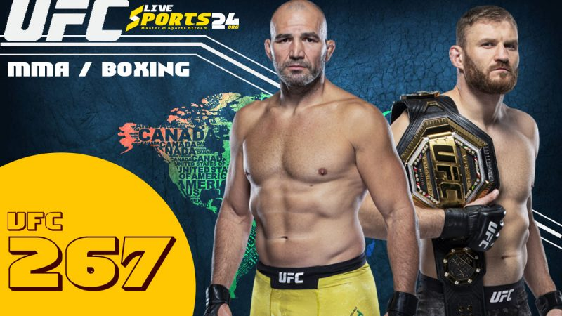 How to Stream UFC 267 Live From US