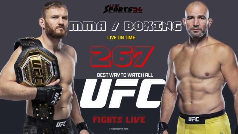 Watch UFC 267 on Firestick in the US