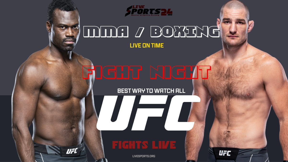 Hall vs Strickland Fight Night | How to Watch UFC Hall vs Strickland on Firestick For Free