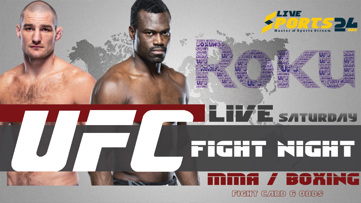 Hall vs Strickland Fight Night | How to Watch UFC Hall vs Strickland on Roku For Free