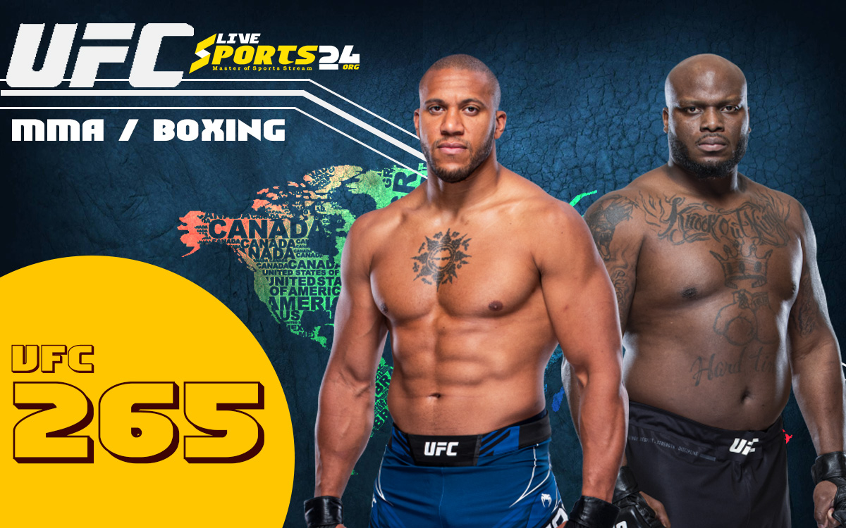 UFC 265 Live | How to Stream Lewis vs Gane Live without Cable for FREE?