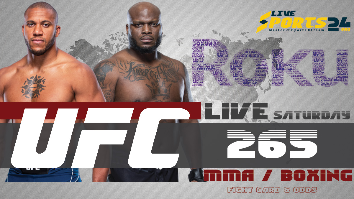 Lewis vs Gane | How to Watch UFC 265 on Roku For Free