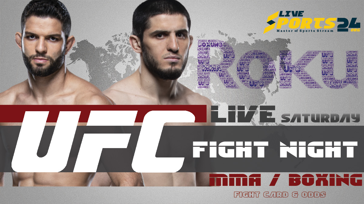 Makhachev vs Moises Fight Night | How to Watch UFC Makhachev vs Moises on Roku For Free