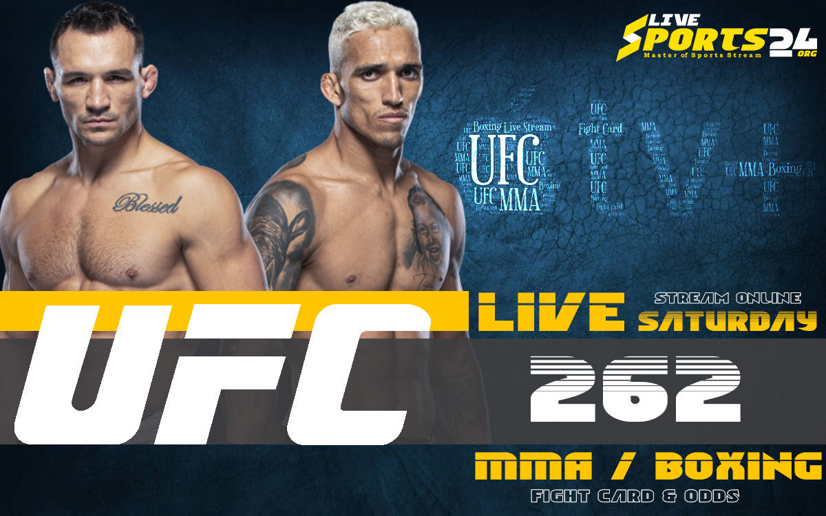 Oliveira vs Chandler   How to Watch UFC 262 on Apple TV For Free