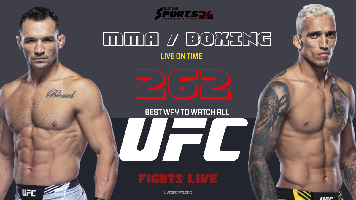 Oliveira vs Chandler   How to Watch UFC 262 on Firestick For Free