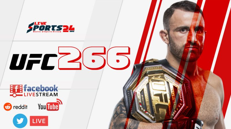 How to Stream UFC 266 Live From US