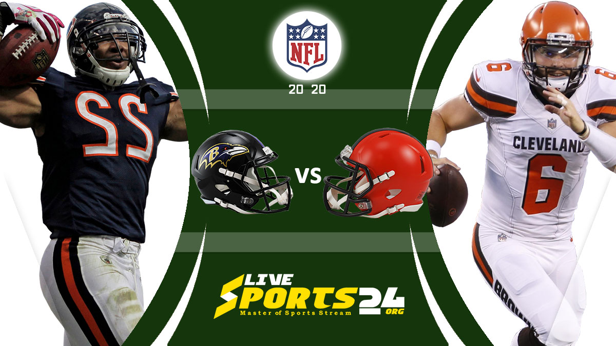 Ravens vs Browns Live: How to watch Baltimore vs Cleveland live Prediction & odds