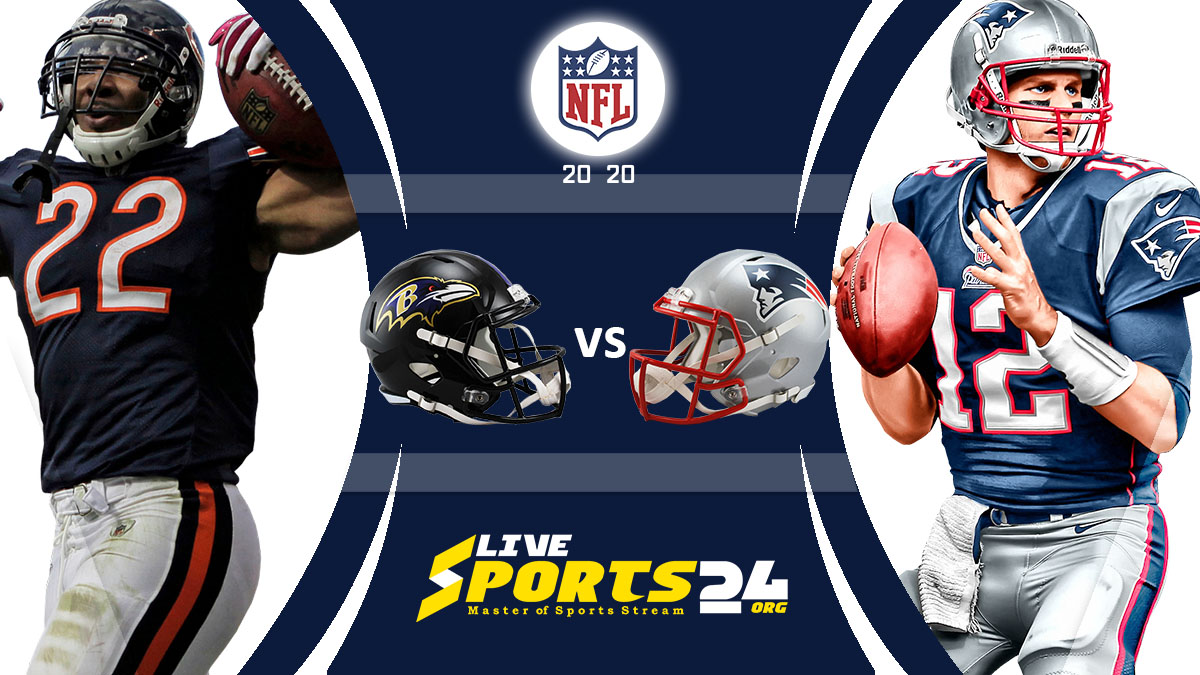 Ravens vs Patriots Live: How to watch Baltimore vs New England live Prediction & odds