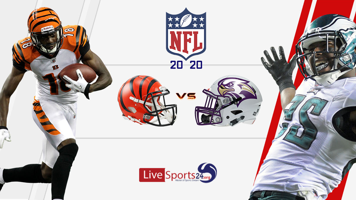 Bengals vs Eagles live