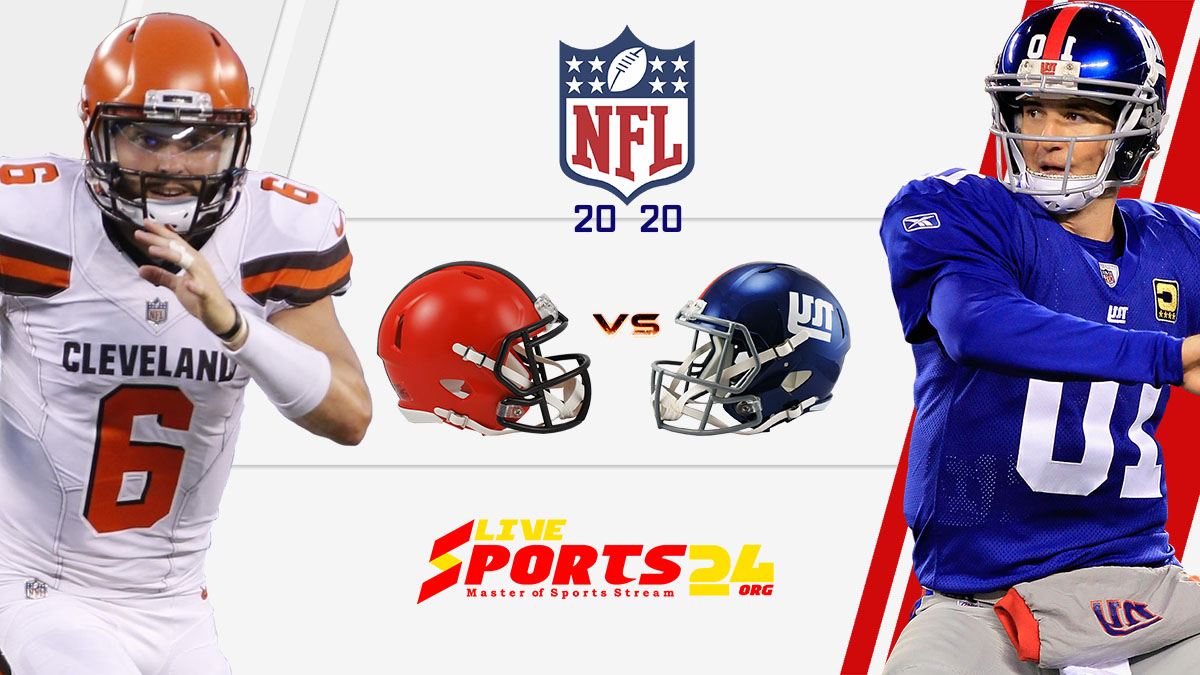 Browns vs Giants live