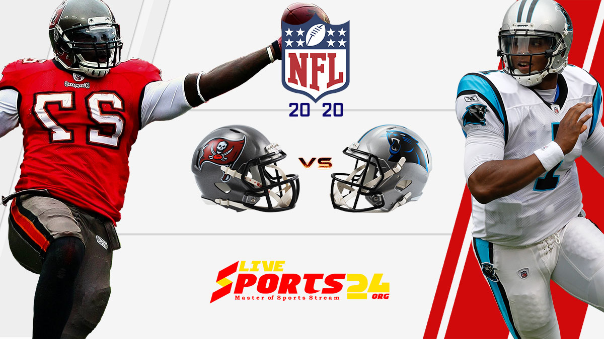 Buccaneers vs Panthers live