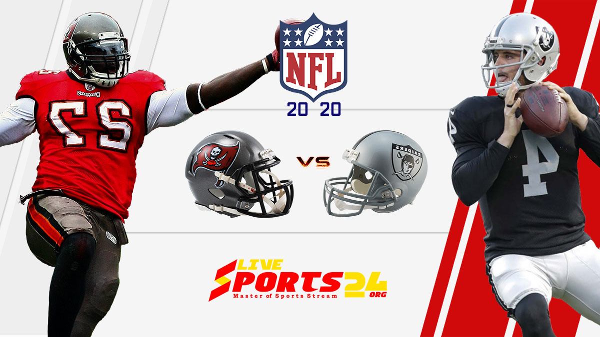 Buccaneers vs Raiders live