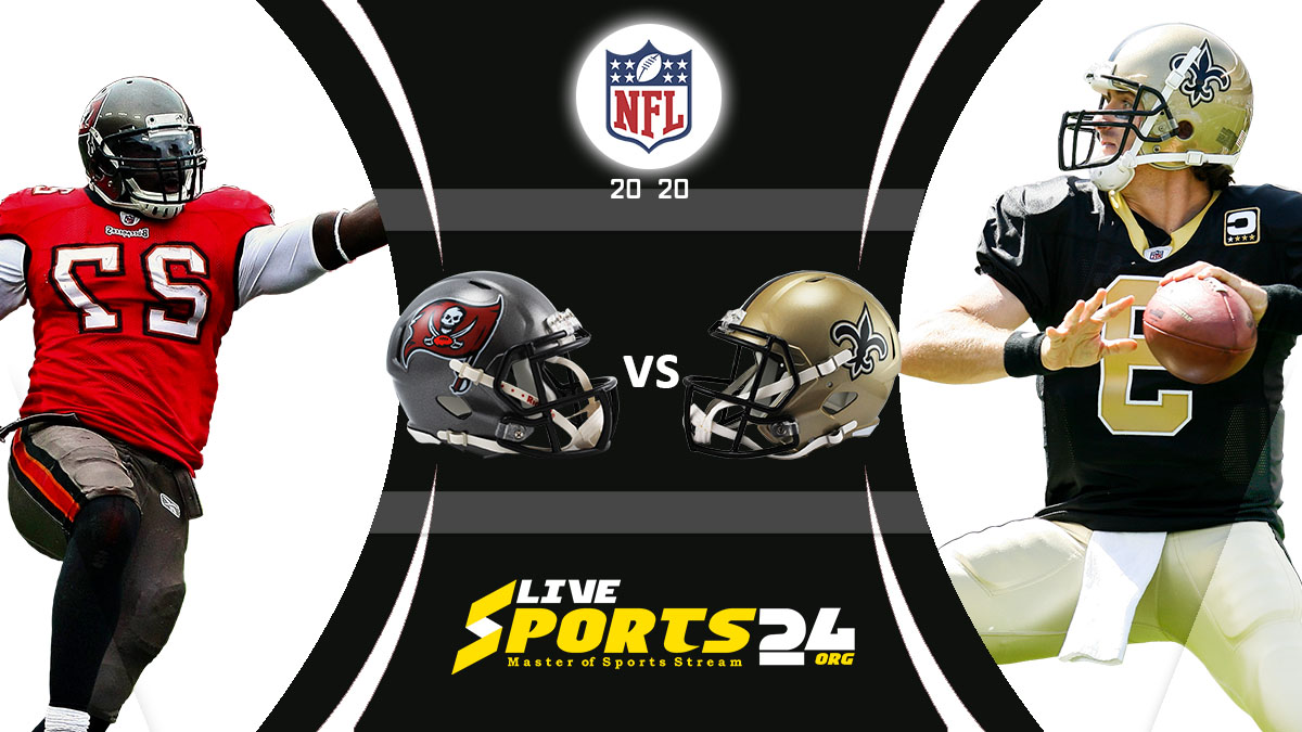 Buccaneers vs Saints Live: How to watch Tampa Bay vs New Orleans live Prediction & odds