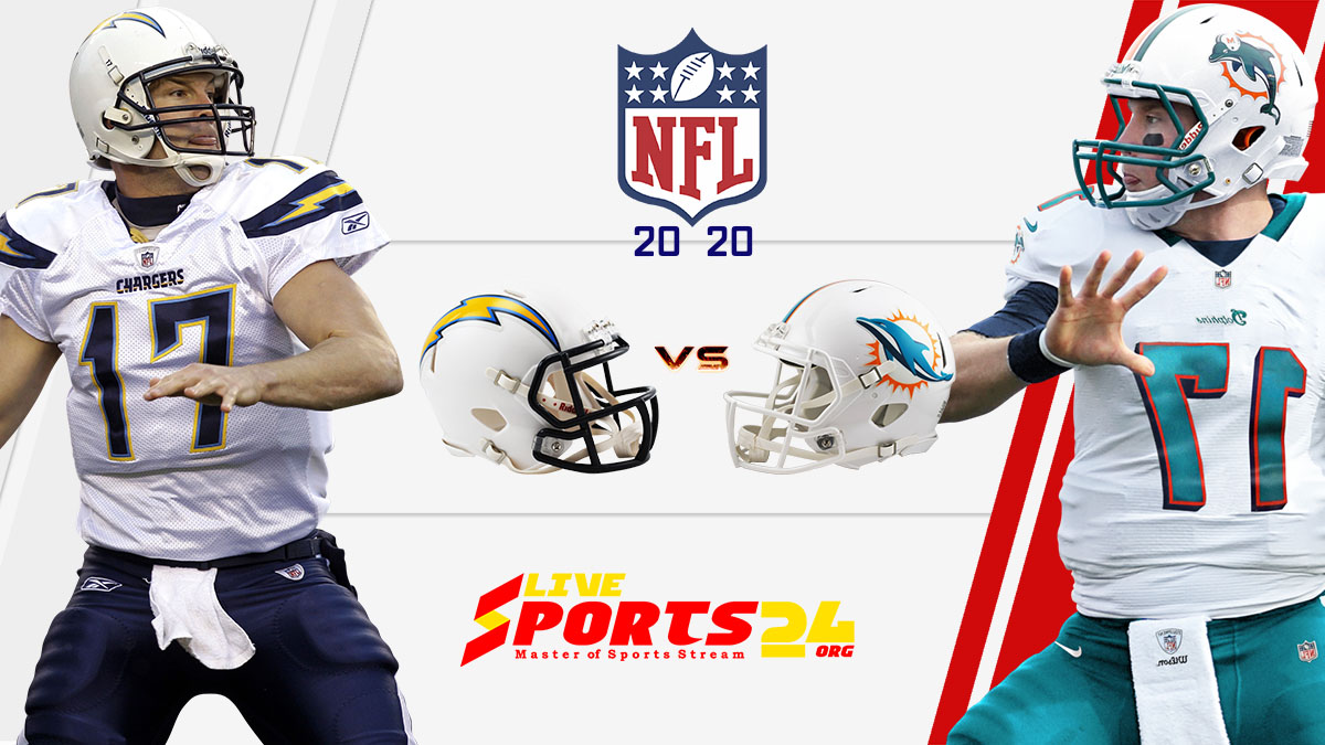 Chargers vs Dolphins live