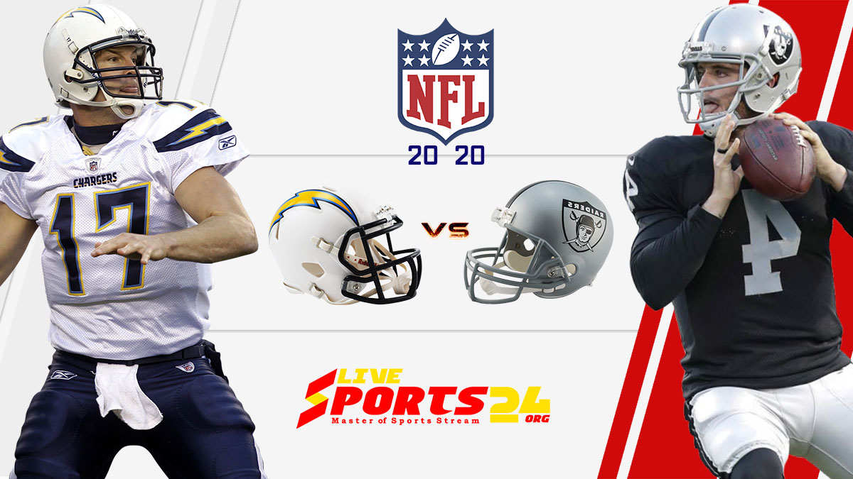 Chargers vs Raiders live