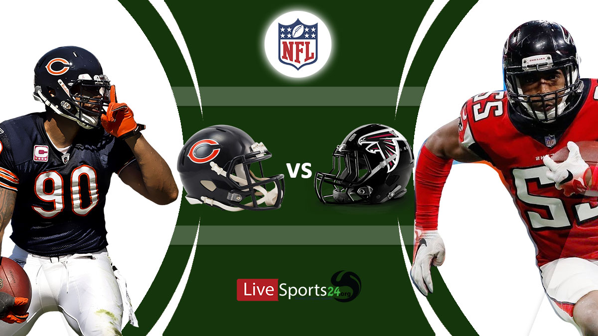 Bears vs Falcons Live: How to watch Chicago vs Atlanta live Prediction & odds