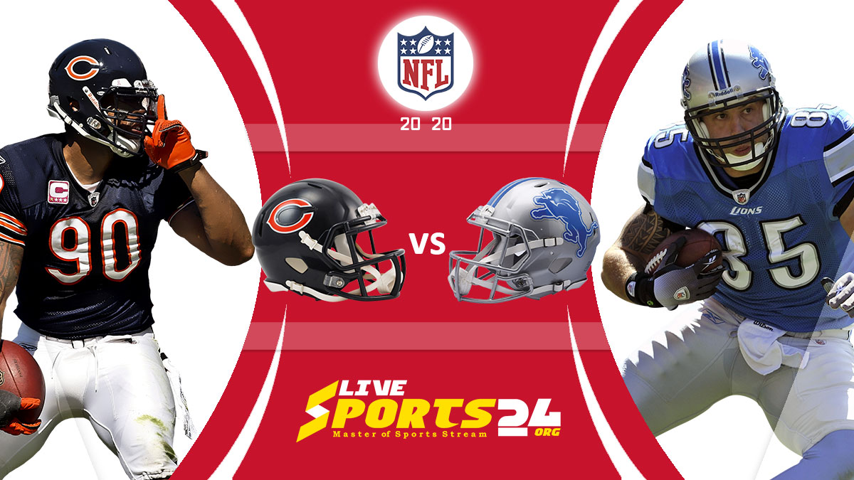 Bears vs Lions Live: How to watch Chicago vs Detroit live Prediction & odds