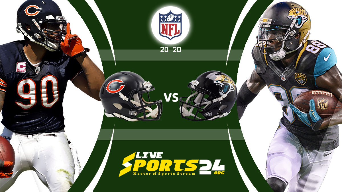 Bears vs Jaguars Live: How to watch Chicago vs Jacksonville live Prediction & odds