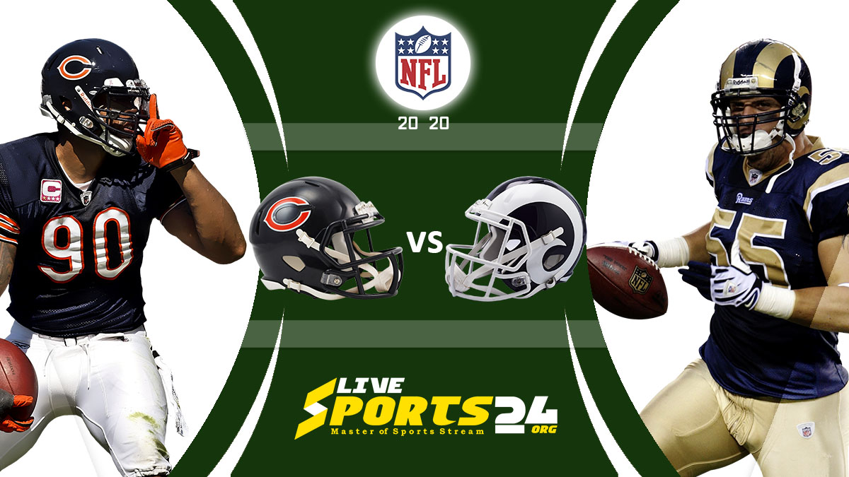 Bears vs Rams Live: How to watch Chicago vs Los Angeles live Prediction & odds