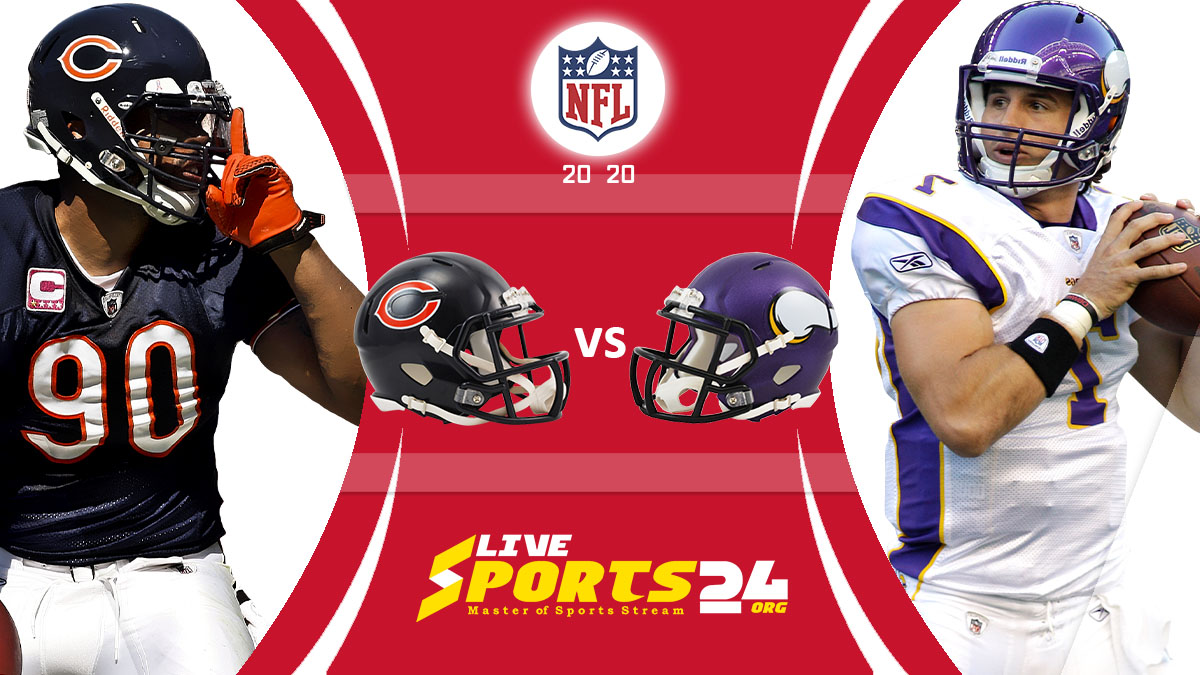 Bears vs Vikings Live: How to watch Chicago vs Minnesota live Prediction & odds