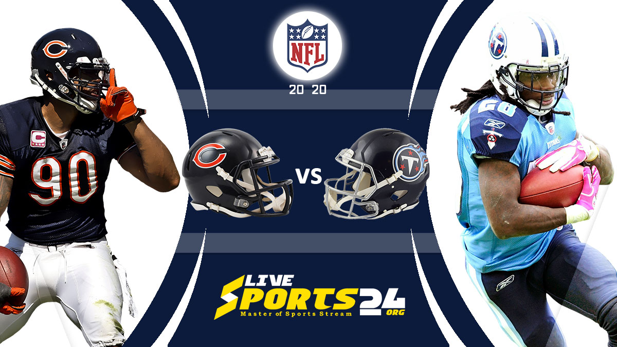 Bears vs Titans Live: How to watch Chicago vs Tennessee live Prediction & odds