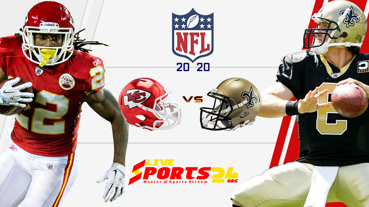 Chiefs vs Saints live