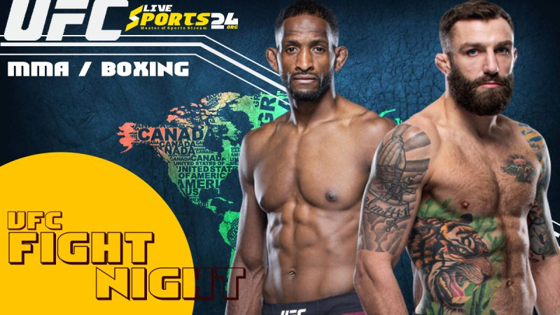 Watch UFC Chiesa vs Magny Live