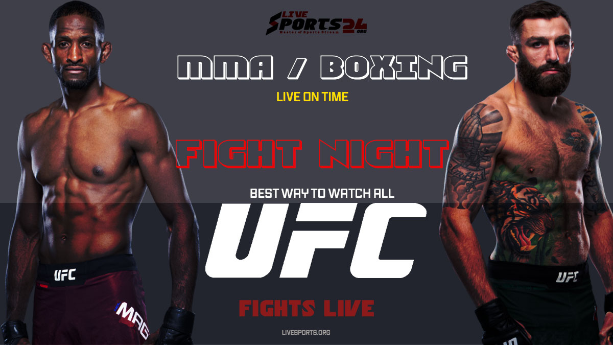 Chiesa vs Magny | How to Watch UFC Chiesa vs Magny on Firestick For Free
