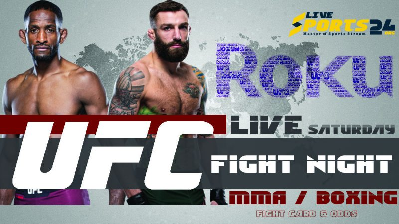 Watch UFC Chiesa vs Magny on Roku
