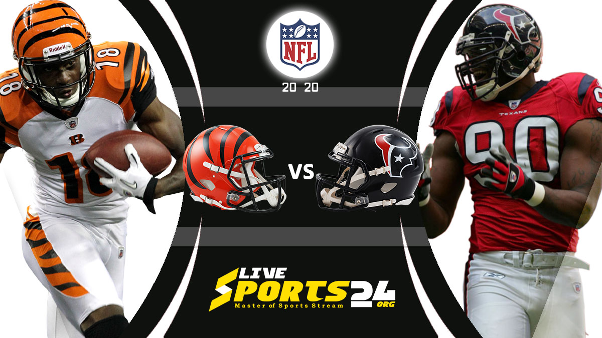 Bengals vs Texans Live: How to watch Cincinnati vs Houston live Prediction & odds