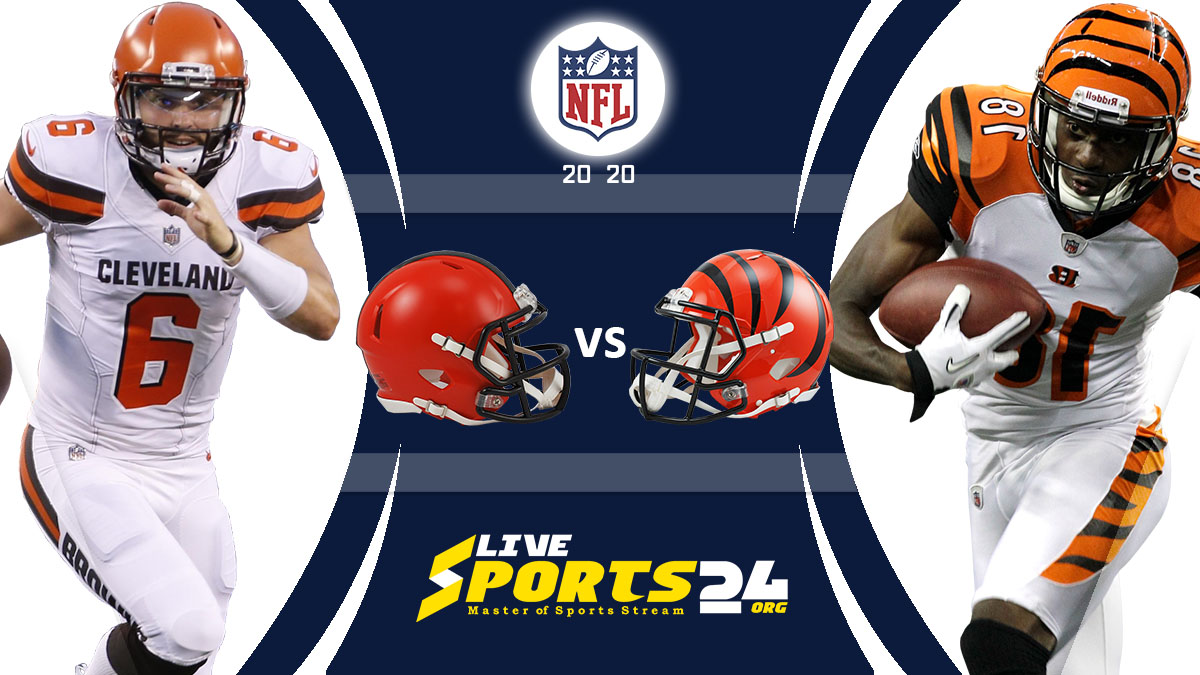 Browns vs Bengals Live: How to watch Cleveland vs Cincinnati live Prediction & odds