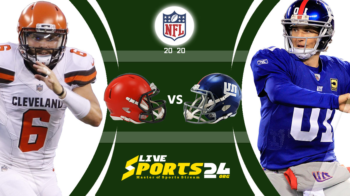 Browns vs Giants Live: How to watch Cleveland vs New York live Prediction & odds