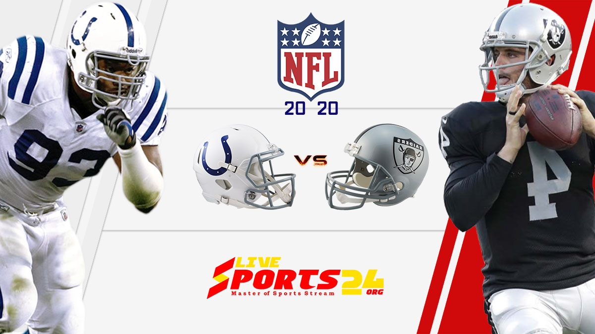 Colts vs Raiders live