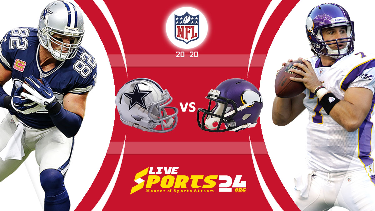 Cowboys vs Vikings Live: How to watch Dallas vs Minnesota live Prediction & odds