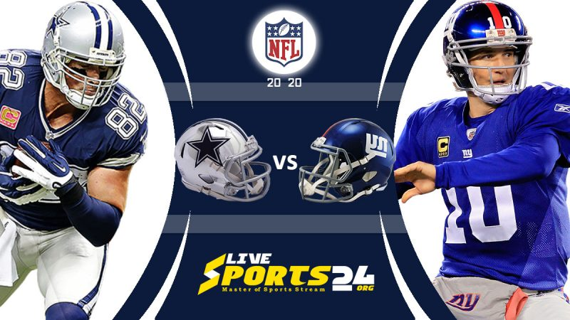 Cowboys vs Giants live