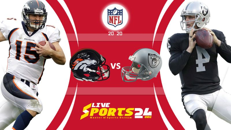 Broncos vs Raiders live