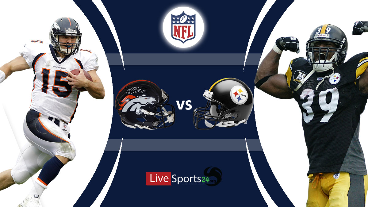 Broncos vs Steelers Live: How to watch Denver vs Pittsburgh live Prediction & odds