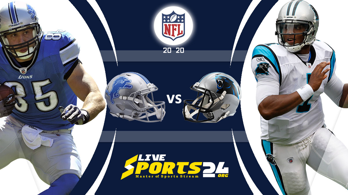 Lions vs Panthers Live: How to watch Detroit vs Carolina live Prediction & odds