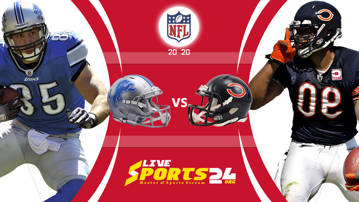Lions vs Bears Live: How to watch Detroit vs Chicago live Prediction & odds