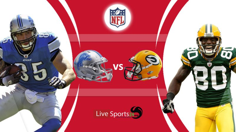 Lions vs Packers live