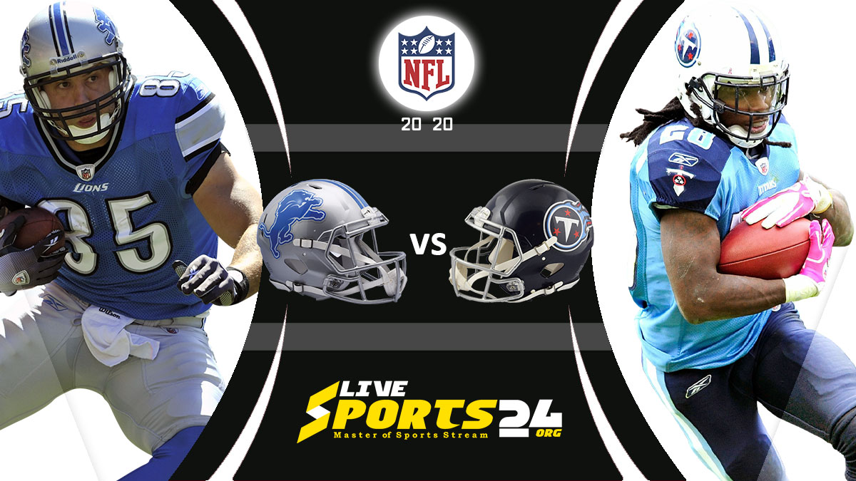 Lions vs Titans Live: How to watch Detroit vs Tennessee live Prediction & odds