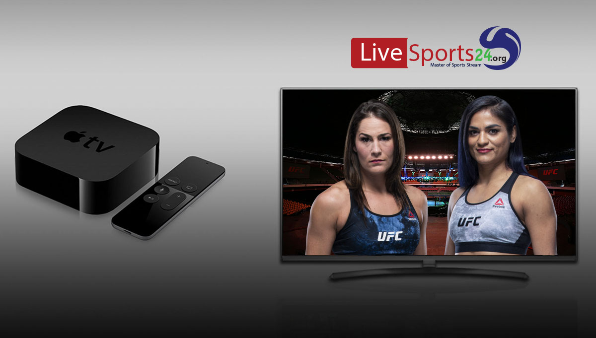 How to Watch UFC Fight Night on Apple TV For Free