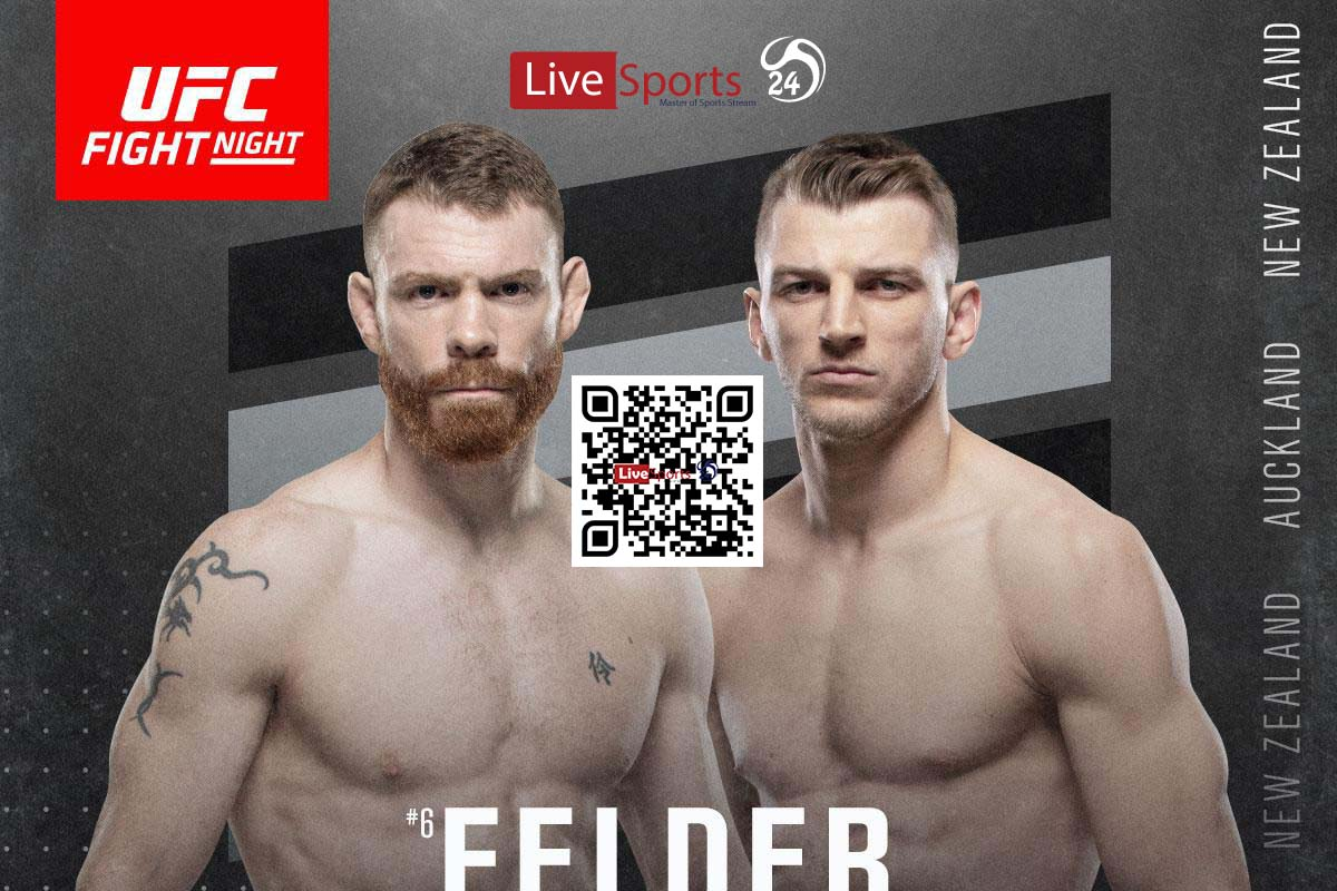 Paul Felder vs Dan Hooker Live Stream