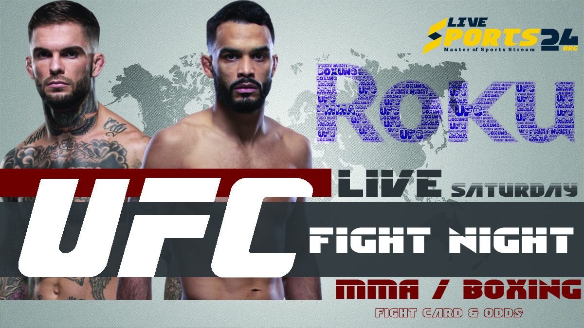 Font vs Garbrandt | How to Watch UFC Fight Night 188 on Roku For Free