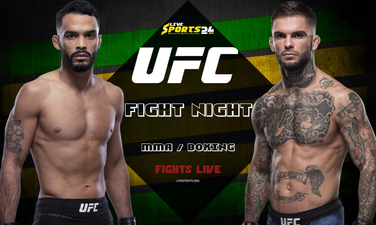 UFC Fight Night 188 Live | How to Watch Font vs Garbrandt Online without Cable?