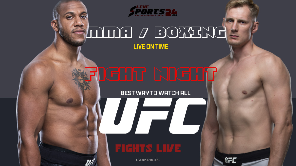 Gane vs Volkov | How to Watch UFC Fight Night 190 on Firestick For Free