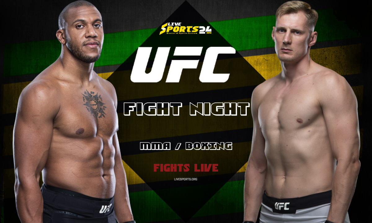 UFC Fight Night Live   How to Stream Gane vs Volkov Live without Cable for FREE?