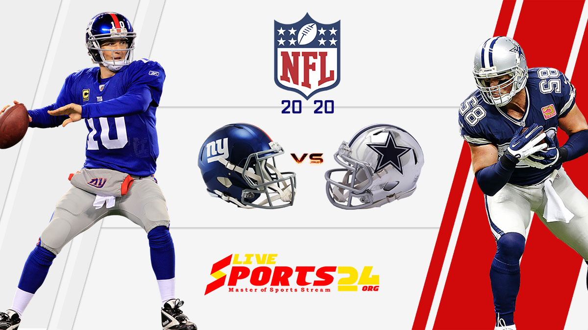 Giants vs Cowboys live