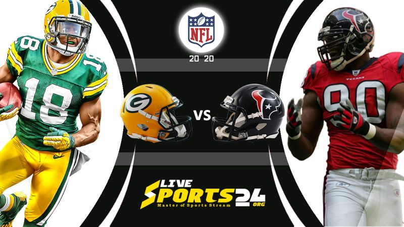 Packers vs Texans live